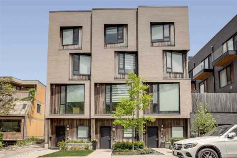 Townhouse for sale at 1 Walder Ave Toronto Ontario - MLS: C4868581