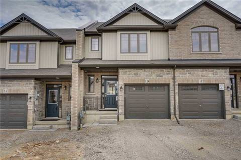 Townhouse for sale at 1 Vic Chambers Pl Brant Ontario - MLS: X4724506