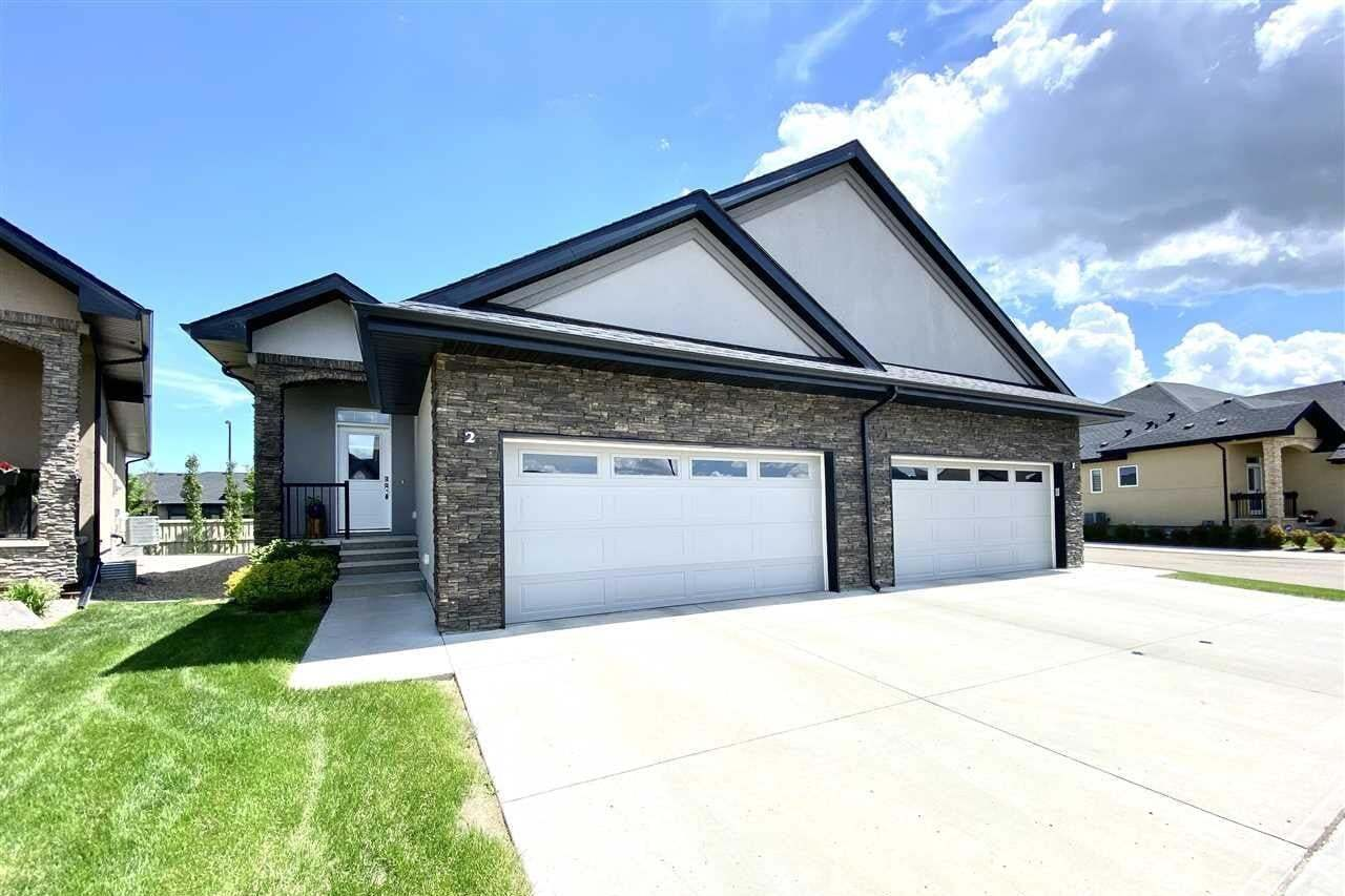 Townhouse for sale at 104 Allard Li SW Unit 2 Edmonton Alberta - MLS: E4201408