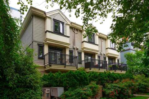 Townhouse for sale at 1137 Barclay St Unit 2 Vancouver British Columbia - MLS: R2469244
