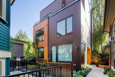 Townhouse for sale at 1152 Comox St Unit 2 Vancouver British Columbia - MLS: R2406888