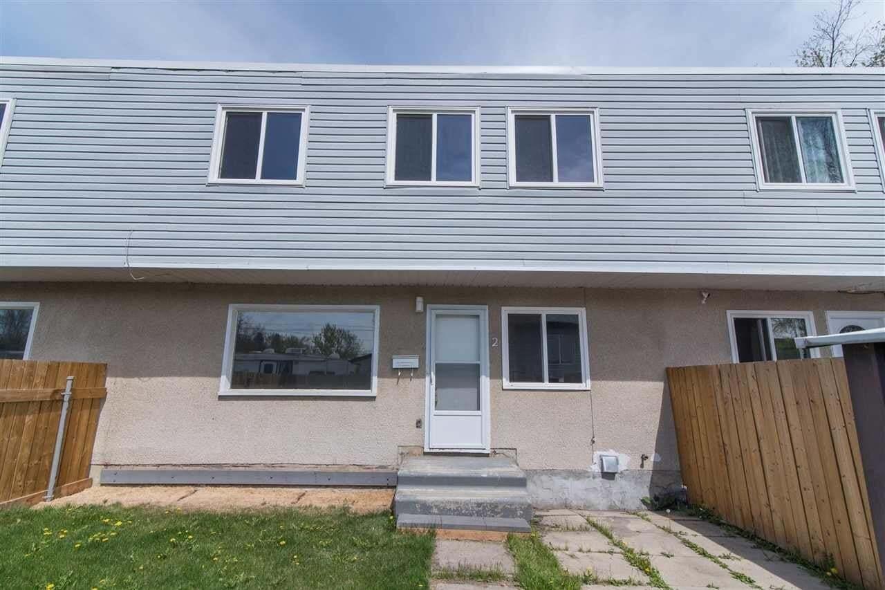 Townhouse for sale at 12132 122 St NW Unit 2 Edmonton Alberta - MLS: E4197874