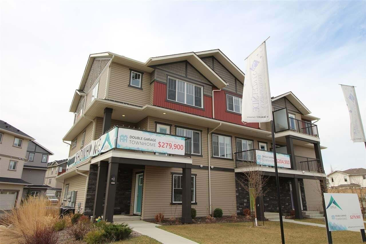 Townhouse for sale at 12815 Cumberland Rd NW Unit 2 Edmonton Alberta - MLS: E4185072