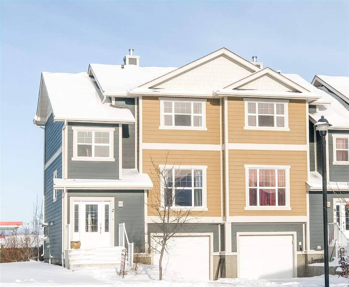 Townhouse for sale at 1501 8 Ave Unit 2 Cold Lake Alberta - MLS: E4103342