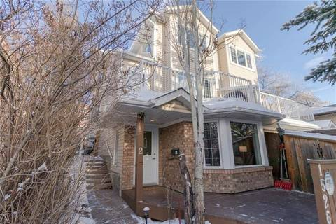Townhouse for sale at 1526 27 Ave Southwest Unit 2 Calgary Alberta - MLS: C4222964