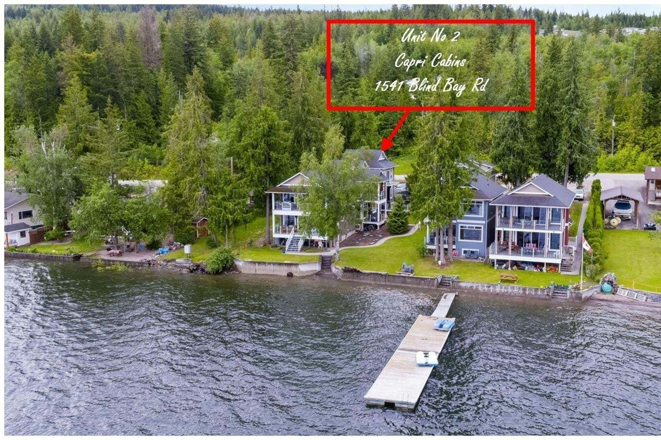 Townhouse for sale at 1541 Blind Bay Rd Unit 2 Sorrento British Columbia - MLS: 10207725