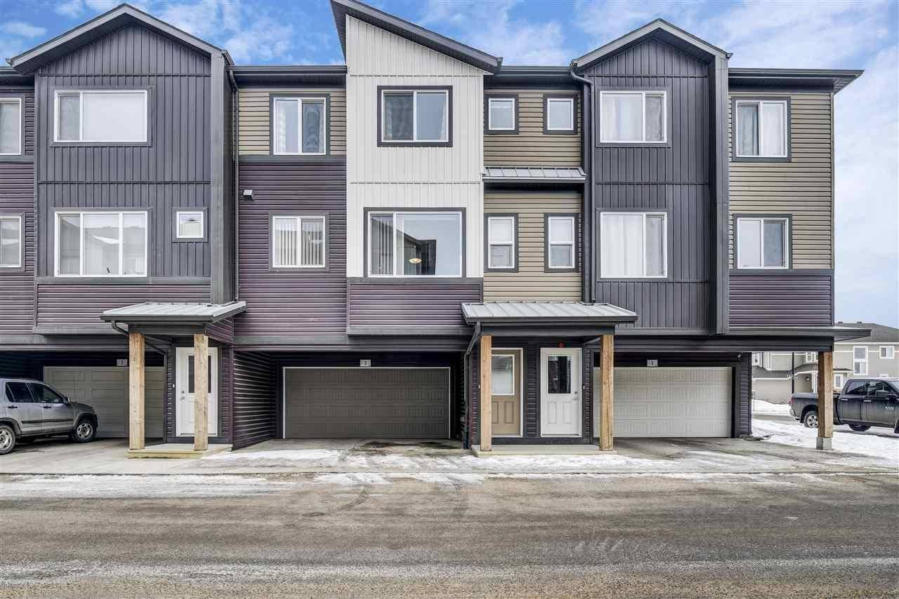 Townhouse for sale at 16903 68 St Nw Unit 2 Edmonton Alberta - MLS: E4191310