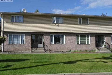 Townhouse for sale at 175 Bowron Ave Unit 2 Quesnel British Columbia - MLS: R2371706