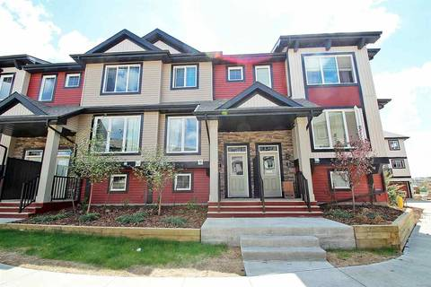 Townhouse for sale at 1776 Cunningham Wy Sw Unit 2 Edmonton Alberta - MLS: E4153053