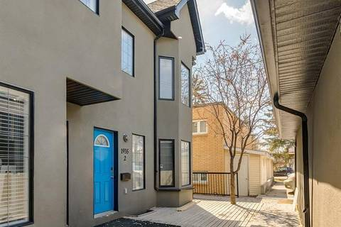 Townhouse for sale at 1935 24 St Southwest Unit 2 Calgary Alberta - MLS: C4295186