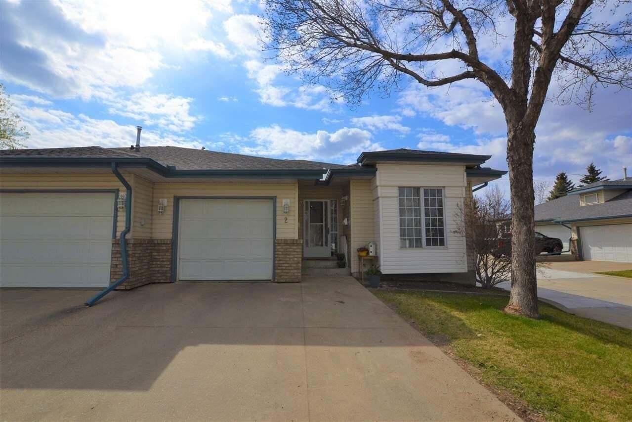 Townhouse for sale at 20 Erin Ridge Rd Unit 2 St. Albert Alberta - MLS: E4197678