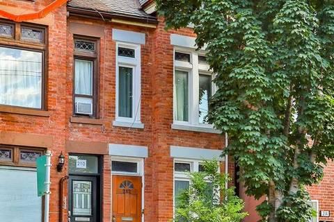 Townhouse for rent at 212 Gerrard St Unit 2 Toronto Ontario - MLS: C4544335