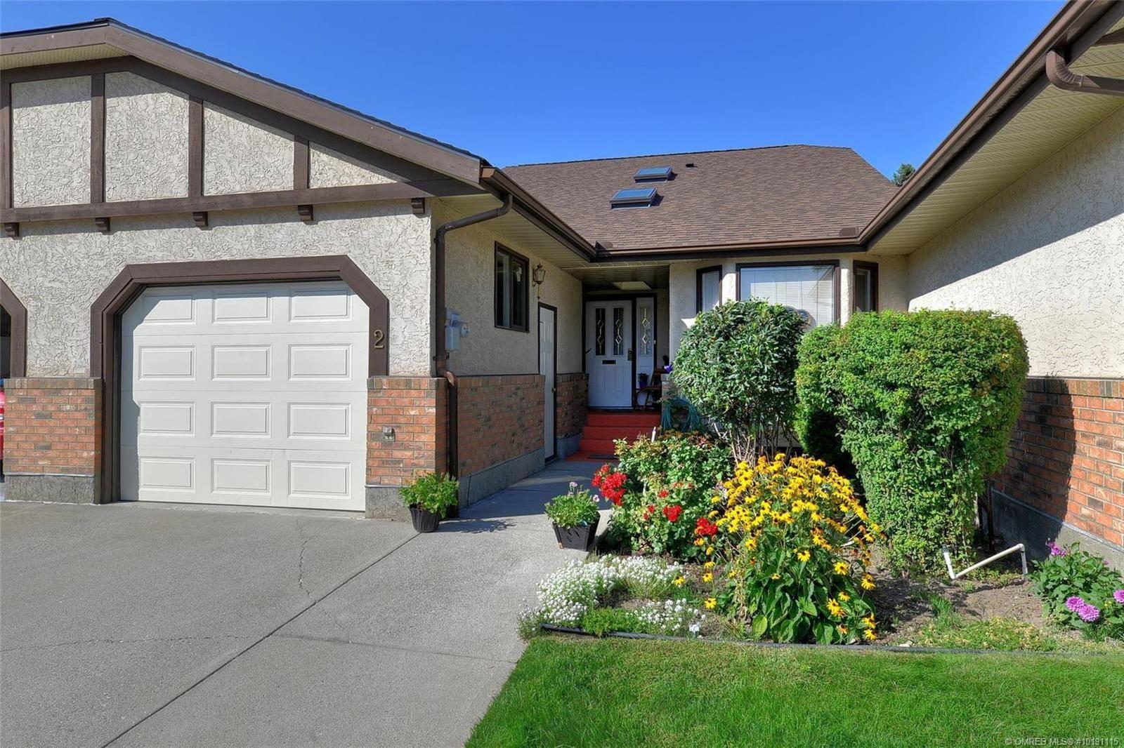Townhouse for sale at 2200 Gordon Dr Unit 2 Kelowna British Columbia - MLS: 10191115