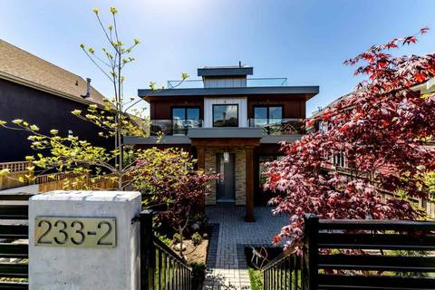 Townhouse for sale at 233 5th St W Unit 2 North Vancouver British Columbia - MLS: R2356787