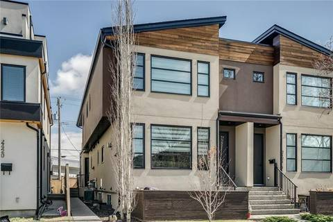 Townhouse for sale at 2422 24a St Sw Unit 2 Richmond, Calgary Alberta - MLS: C4215332