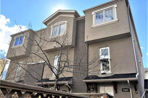 Townhouse for sale at 2425 29 St Southwest Unit 2 Calgary Alberta - MLS: C4291340