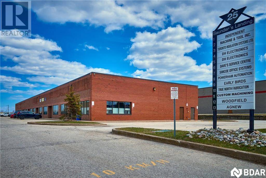 Commercial property for sale at 25 Saunders Rd Unit 2 Barrie Ontario - MLS: 30803161