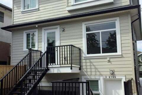 Townhouse for sale at 2786 46th Ave E Unit 2 Vancouver British Columbia - MLS: R2474426