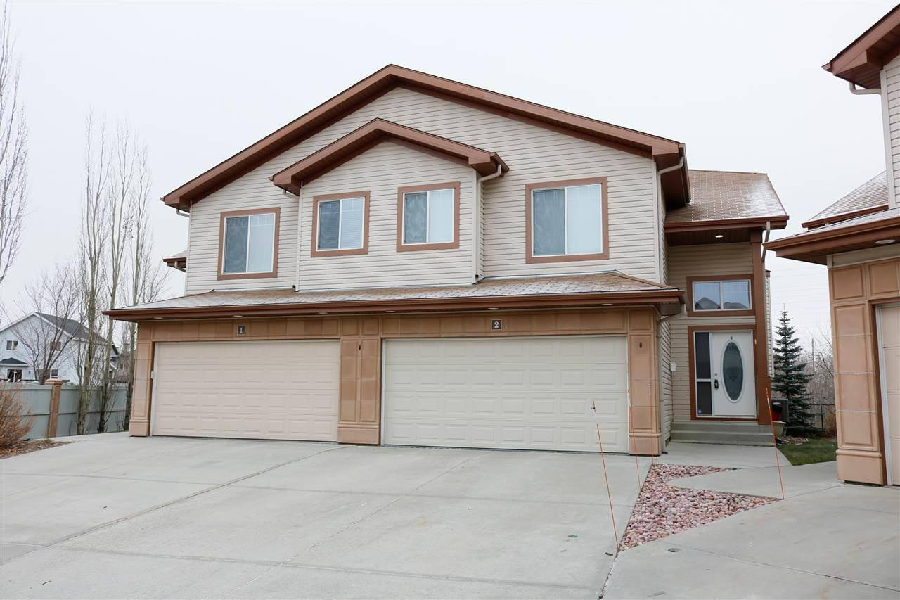 Townhouse for sale at 2815 34 Ave Nw Unit 2 Edmonton Alberta - MLS: E4194540