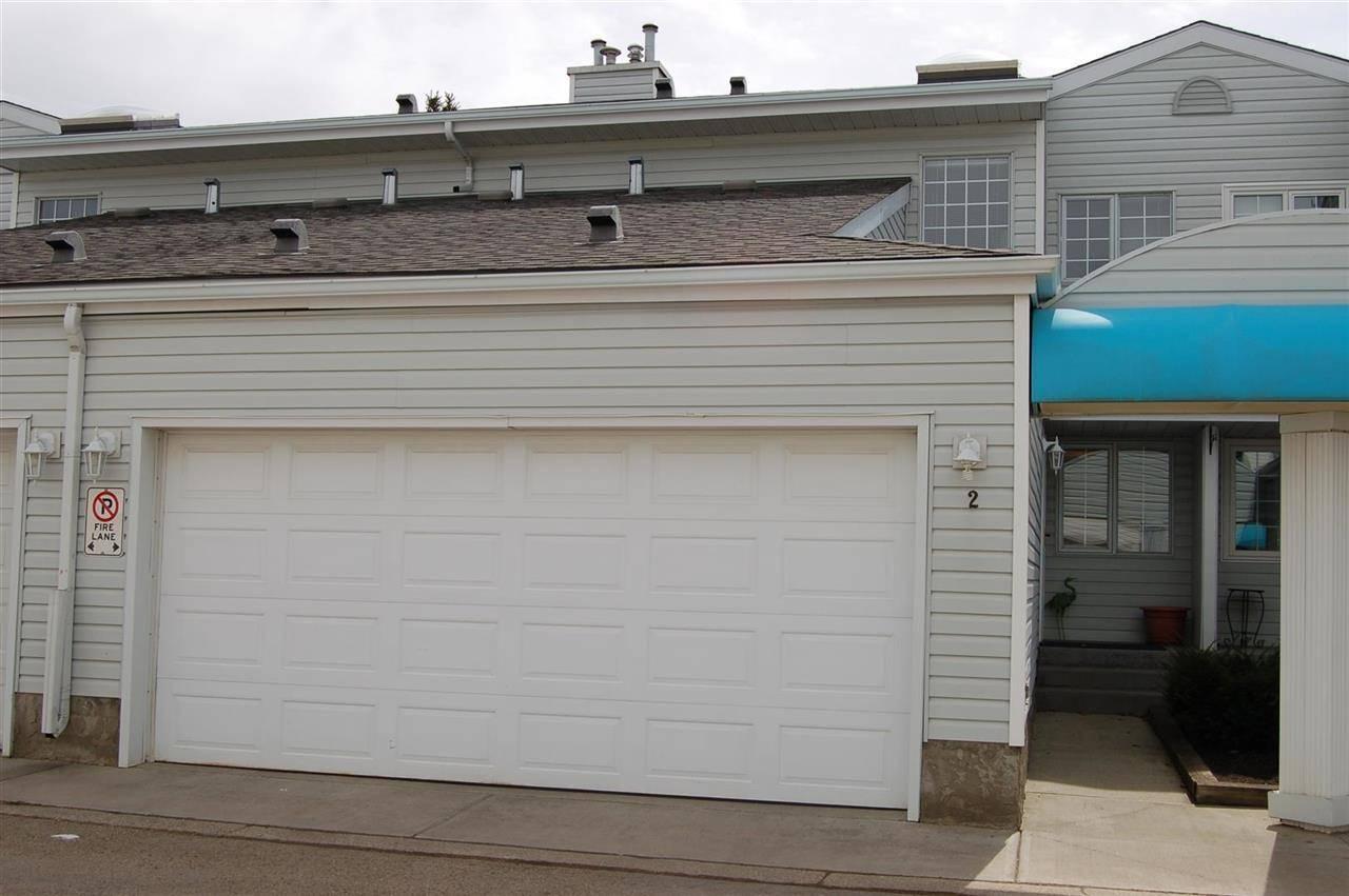 Townhouse for sale at 2911 36 St Nw Unit 2 Edmonton Alberta - MLS: E4186175