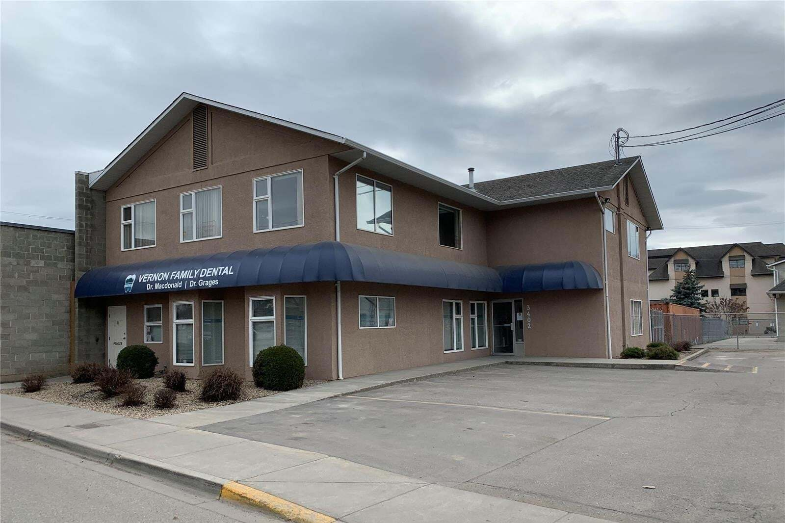 Commercial property for lease at 3402 28 Ave Apartment 2 Vernon British Columbia - MLS: 10202093