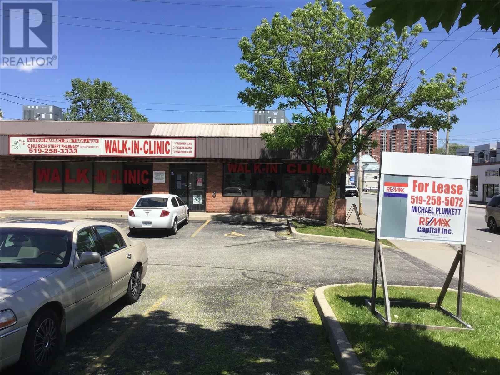 Commercial property for lease at 366 Wyandotte St West Apartment 2 Windsor Ontario - MLS: 19018640