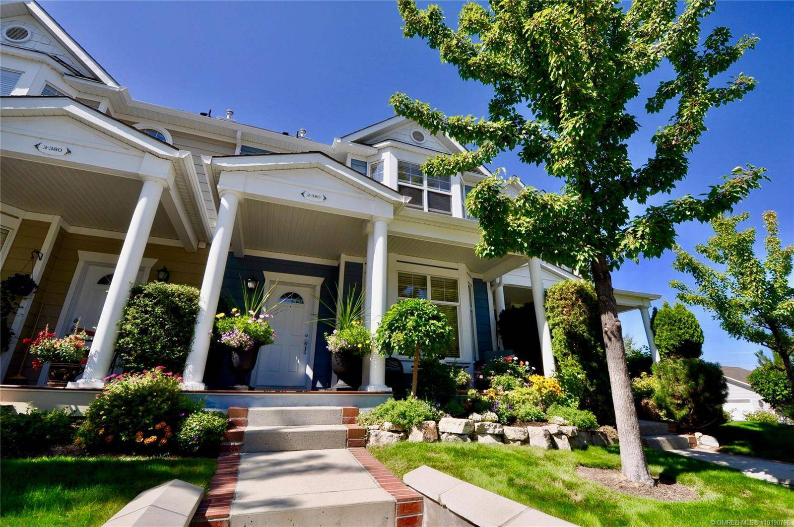 Townhouse for sale at 380 Providence Ave Unit 2 Kelowna British Columbia - MLS: 10190798
