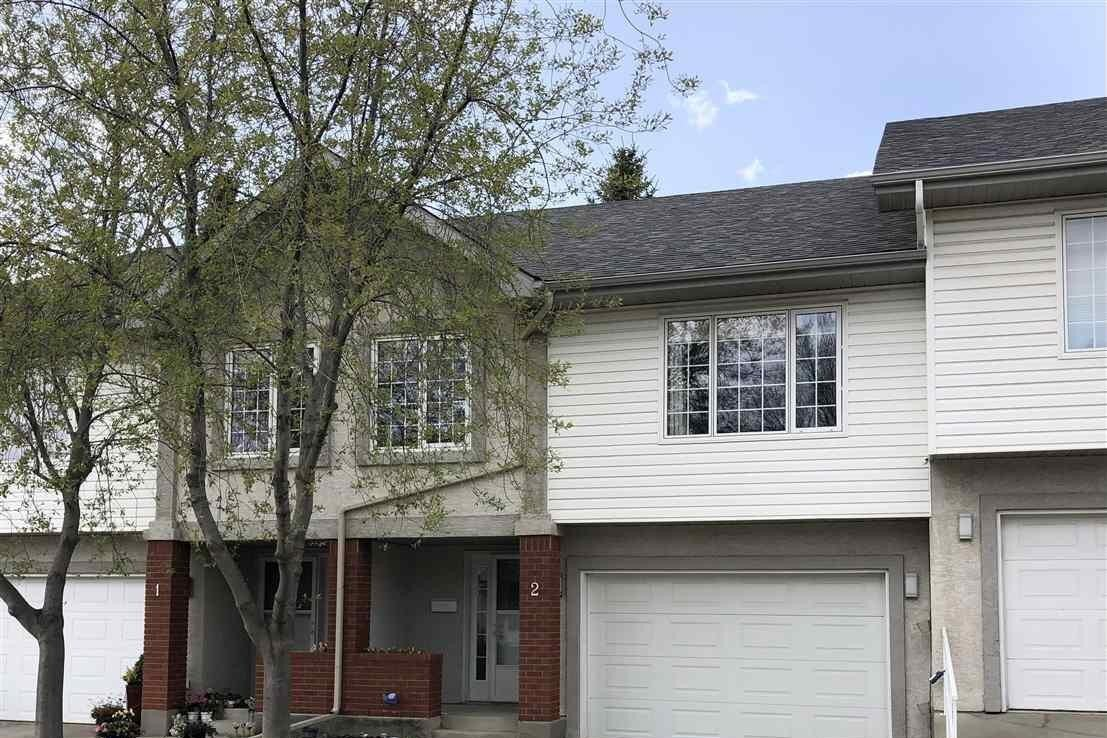 Townhouse for sale at 40 Cranford Wy Unit 2 Sherwood Park Alberta - MLS: E4222504