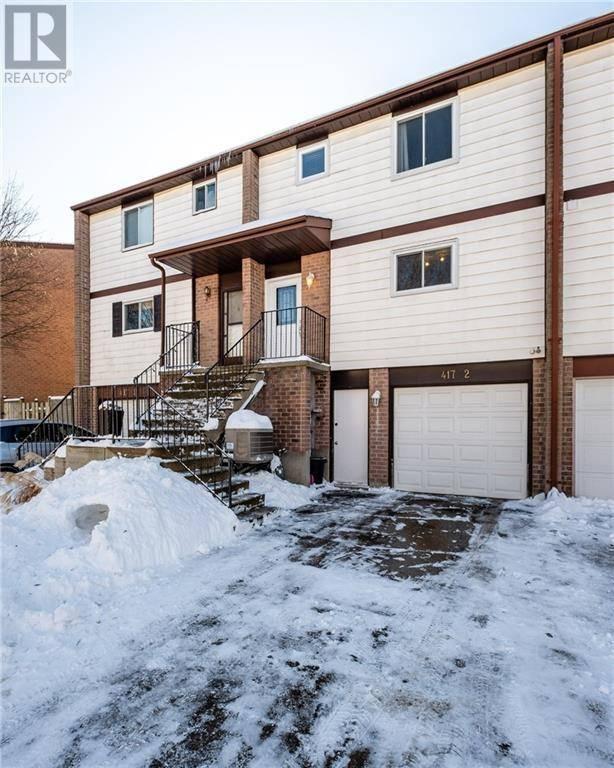 House for sale at 417 Cadbury Ct Unit 2 Waterloo Ontario - MLS: 30786037