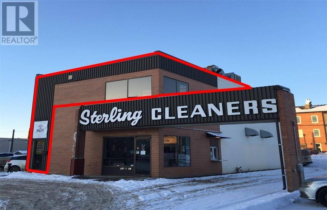 Commercial property for lease at 4810 52 St Apartment 2 Red Deer Alberta - MLS: ca0185161