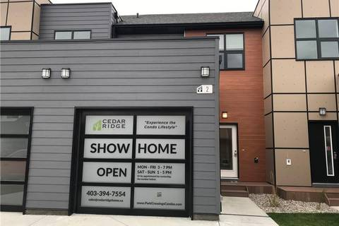 Townhouse for sale at 61 Aquitania Circ W Unit 2 Lethbridge Alberta - MLS: LD0180173