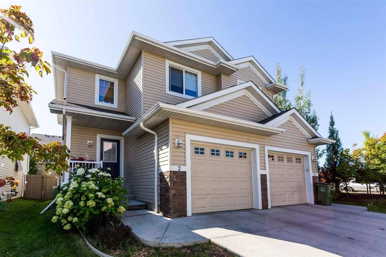 Townhouse for sale at 655 Tamarack Rd Nw Unit 2 Edmonton Alberta - MLS: E4173033