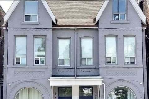 Townhouse for rent at 678 Bathurst St Unit 2 Toronto Ontario - MLS: C4845105