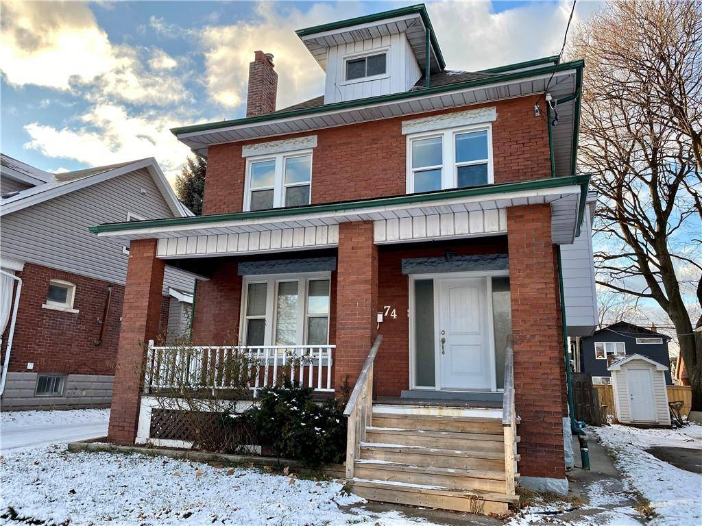 House for rent at 74 Kenilworth Ave S Unit 2 Hamilton Ontario - MLS: H4070706