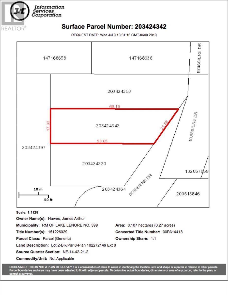 Home for sale at 8 Lot Block Dr Unit 2; St. Brieux Saskatchewan - MLS: SK778727