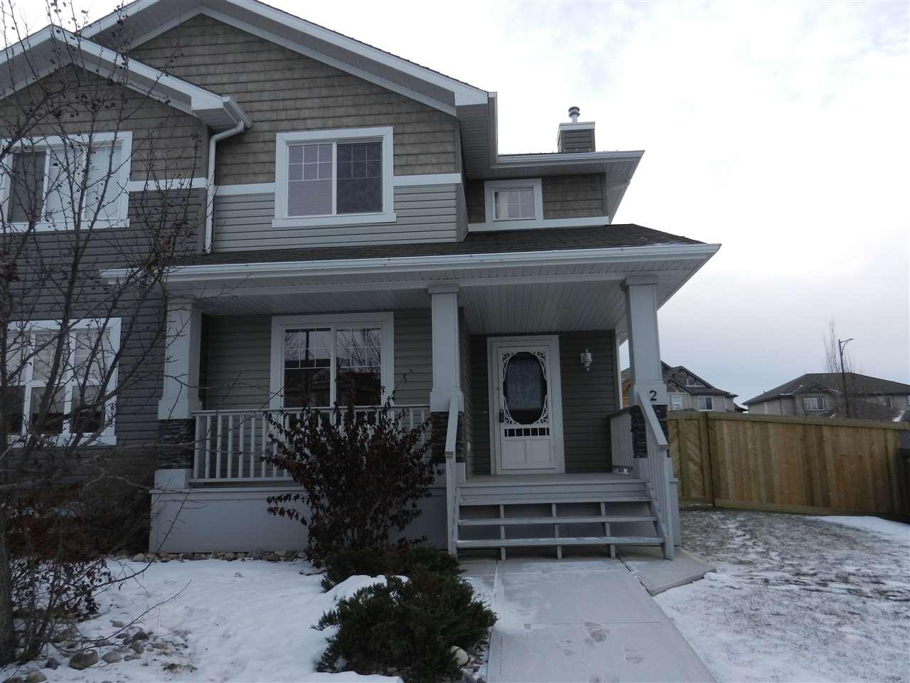 For Sale: 2 Allard Way, Fort Saskatchewan, AB | 3 Bed, 3 Bath Townhouse for $306,000. See 27 photos!