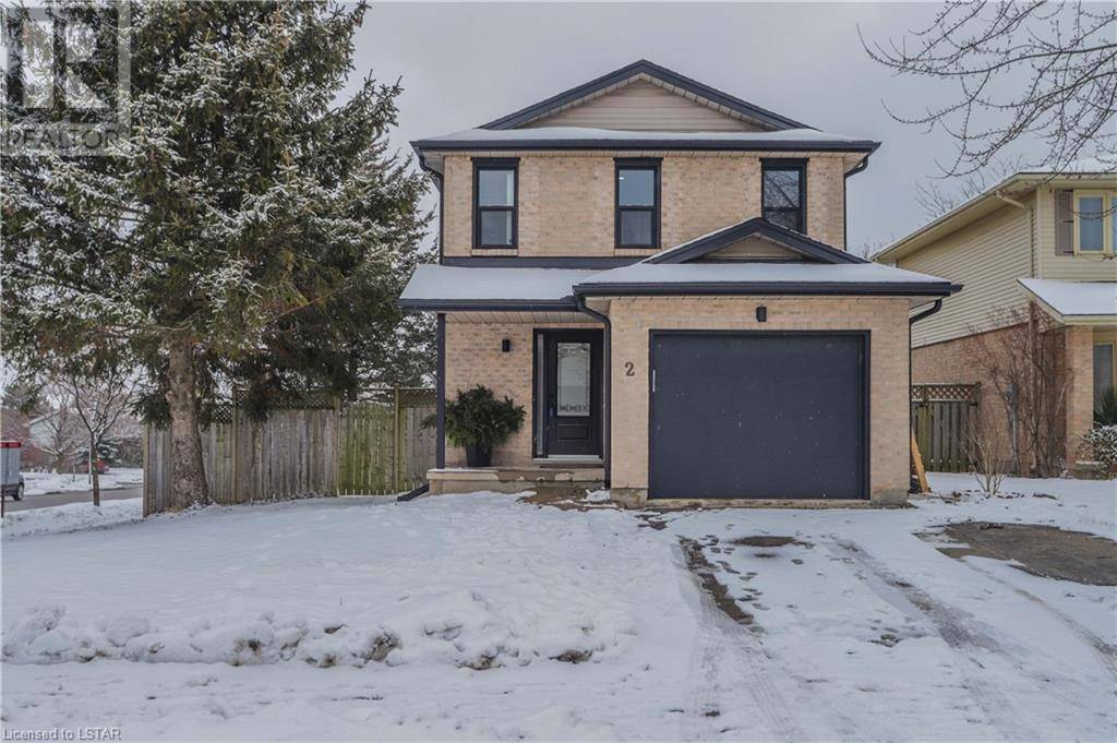 House for sale at 2 Barrydale Cres London Ontario - MLS: 244729