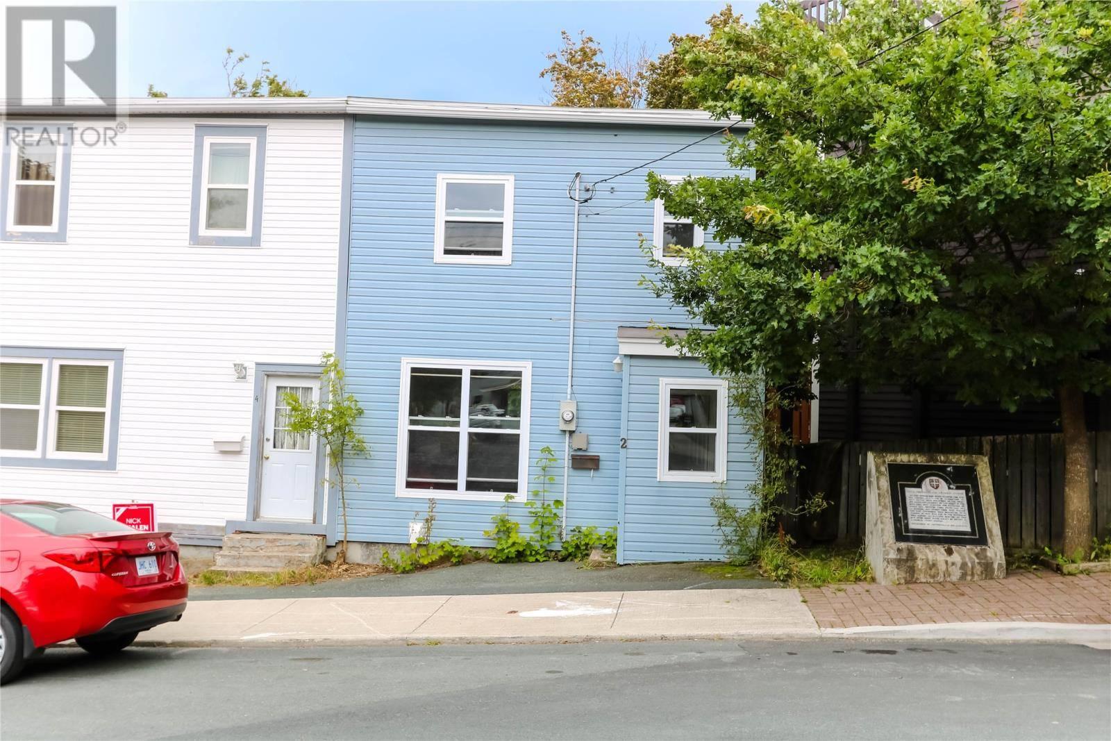 House for sale at 2 Belvedere St St. John's Newfoundland - MLS: 1209486