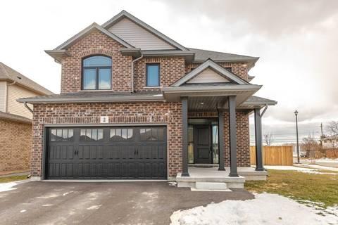 House for sale at 2 Bergenstein Cres Pelham Ontario - MLS: X4699351