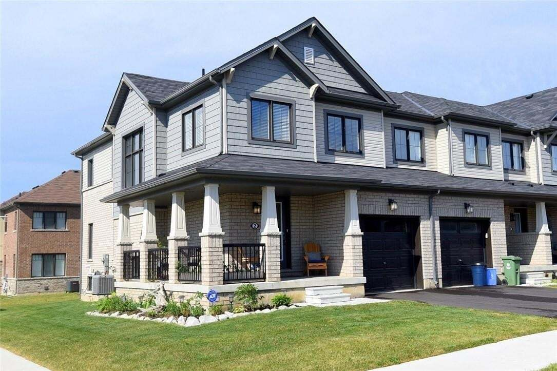 Townhouse for sale at 2 Bradshaw Dr Stoney Creek Ontario - MLS: H4081082