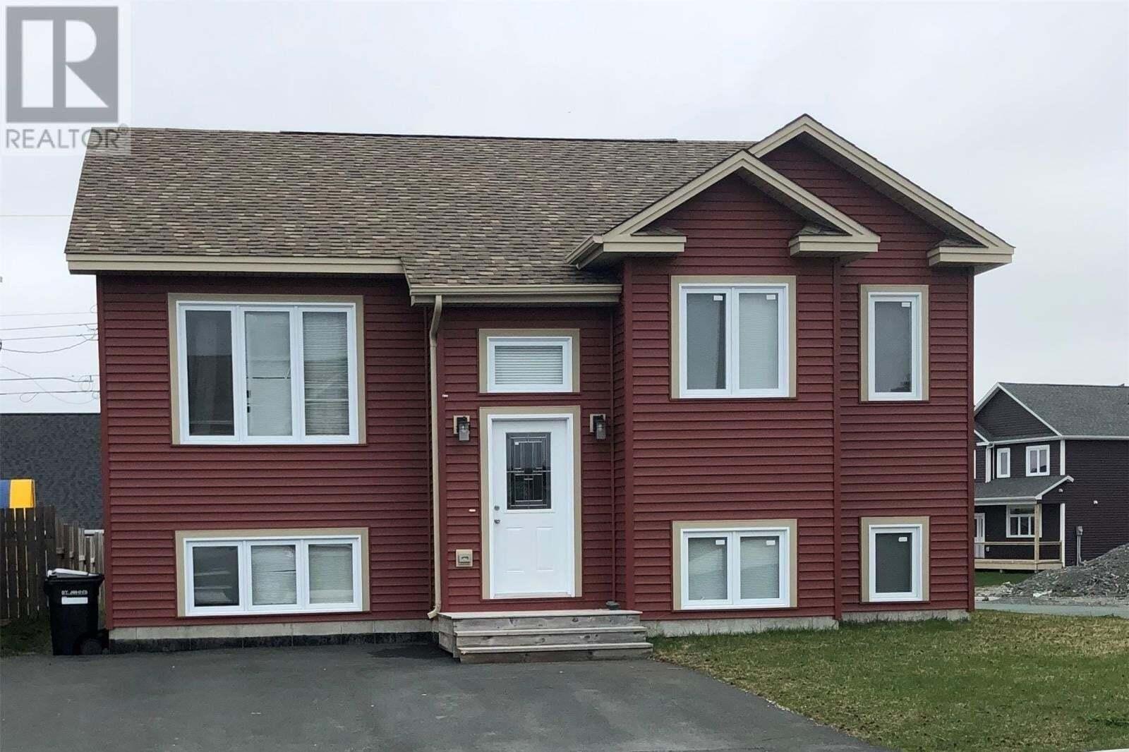 House for sale at 2 Bulrush Ave St. John's Newfoundland - MLS: 1214230