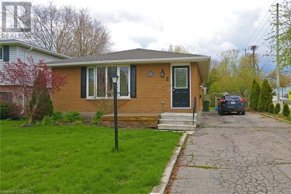 House for sale at 2 Caldwell St St. Thomas Ontario - MLS: 259957