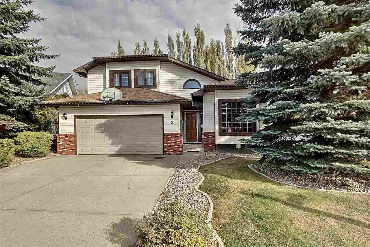 House for sale at 2 Craigavon Dr Sherwood Park Alberta - MLS: E4192758