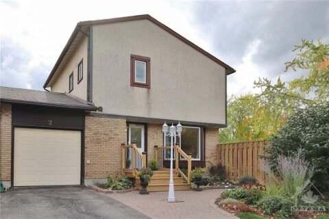 House for sale at 2 Dolan Dr Ottawa Ontario - MLS: 1212236