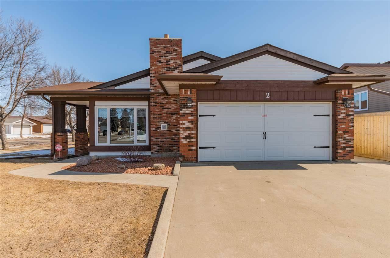 House for sale at 2 Durham Ave St. Albert Alberta - MLS: E4194063