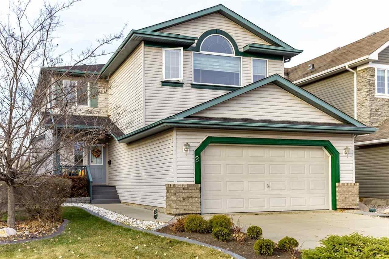 House for sale at 2 Escada Cl St. Albert Alberta - MLS: E4220184