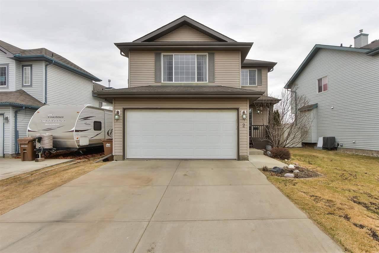 House for sale at 2 Everwood Cs St. Albert Alberta - MLS: E4195135