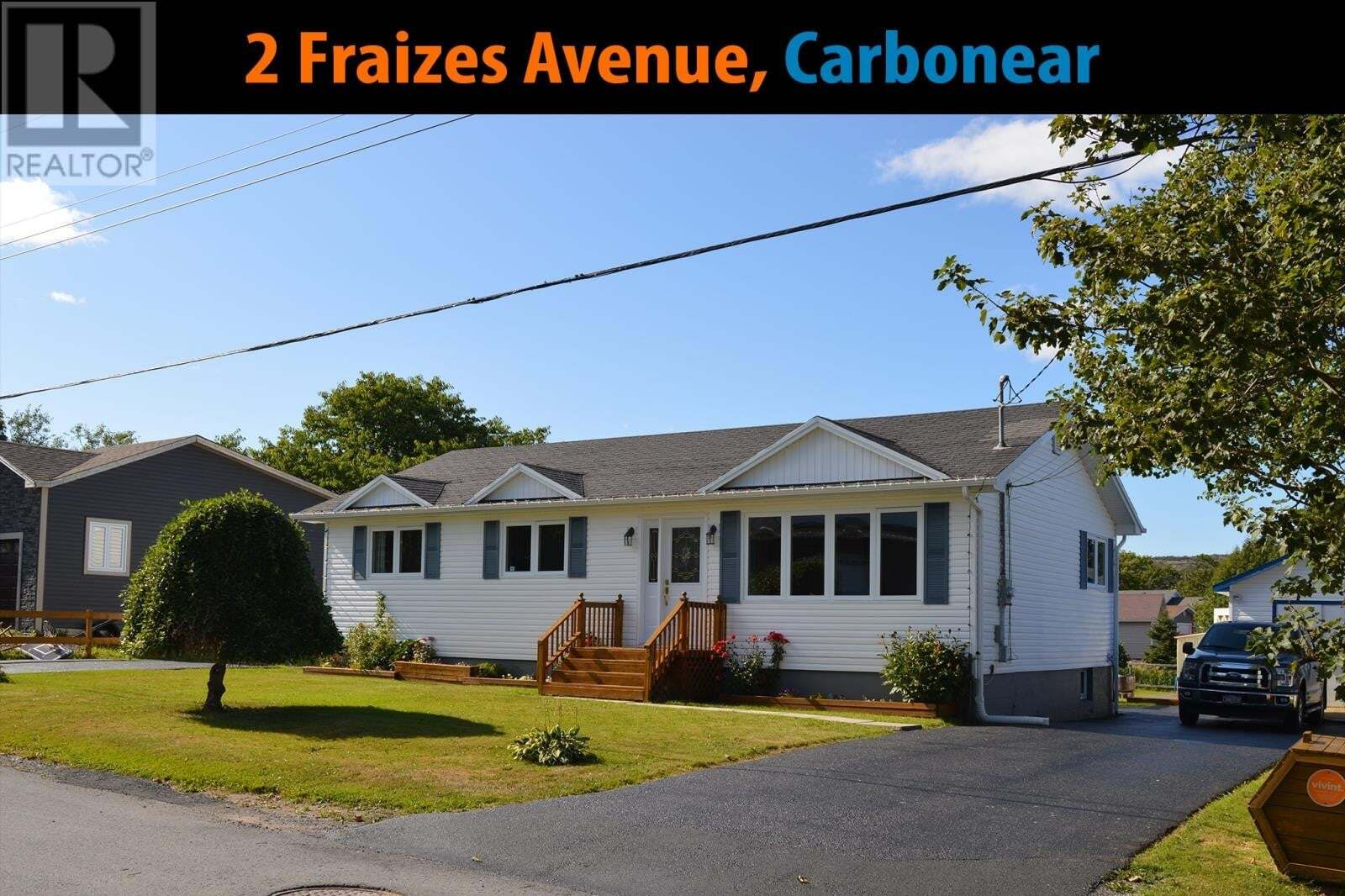 House for sale at 2 Fraizes Ave Carbonear Newfoundland - MLS: 1212233