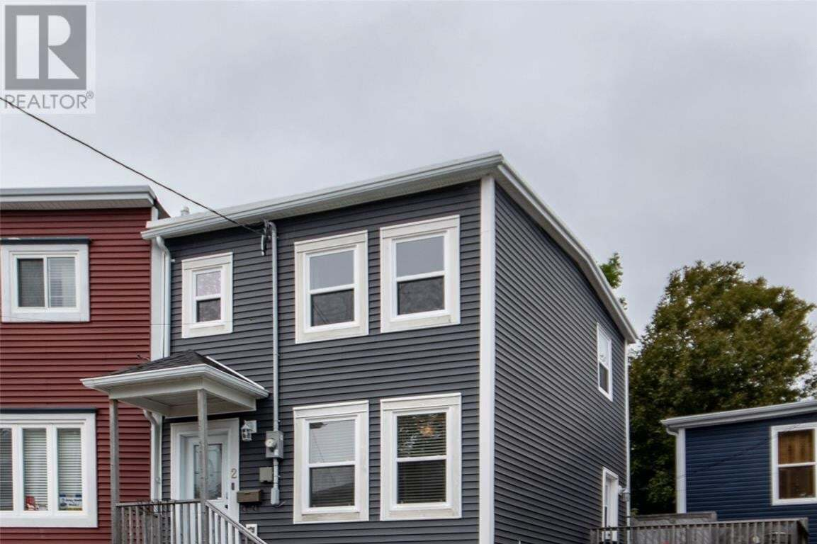 House for sale at 2 Franklyn Ave St. John's Newfoundland - MLS: 1222106