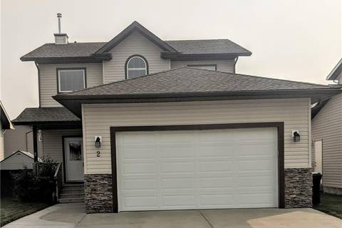 House for sale at 2 Goddard Circ Carstairs Alberta - MLS: C4164672